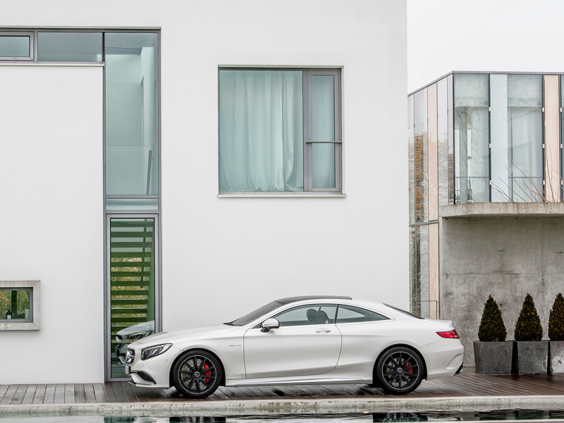 Nuevo Mercedes S63 AMG Coupé 4Matic
