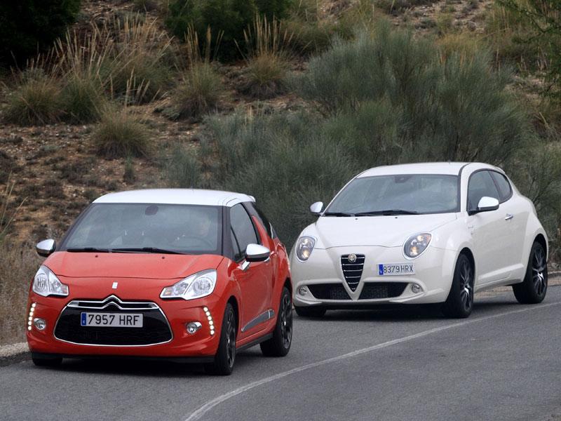 Alfa Mito 1.6 JTDM vs Citroën DS3 1.6 E-HDI
