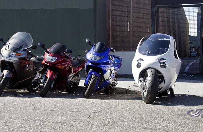 Lit Motors C1, la moto eléctrica con la que no te caes