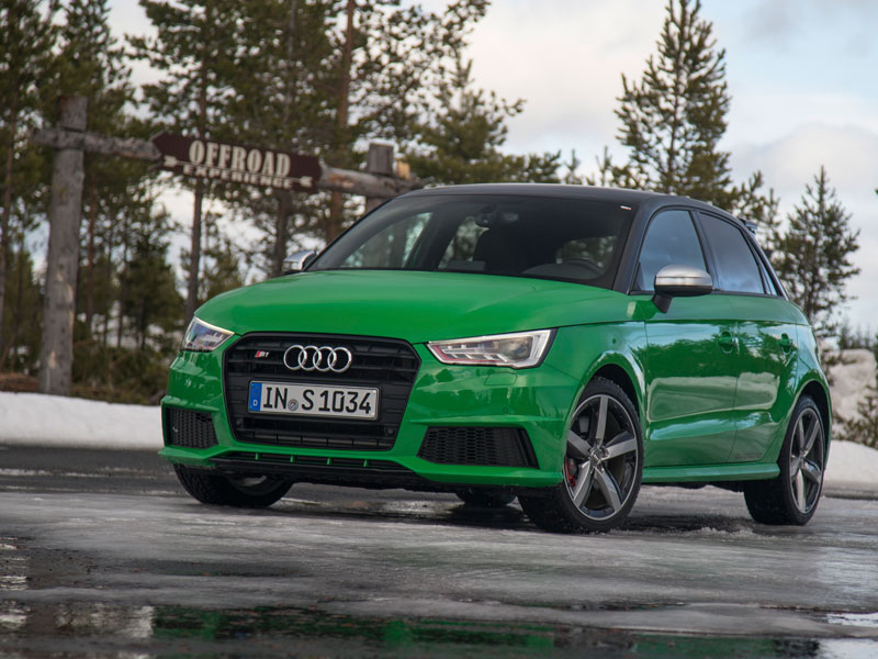Audi S1, fotos del contacto