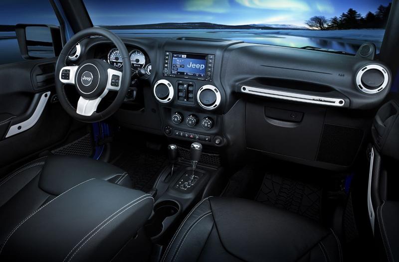 Jeep Wrangler Polar interior