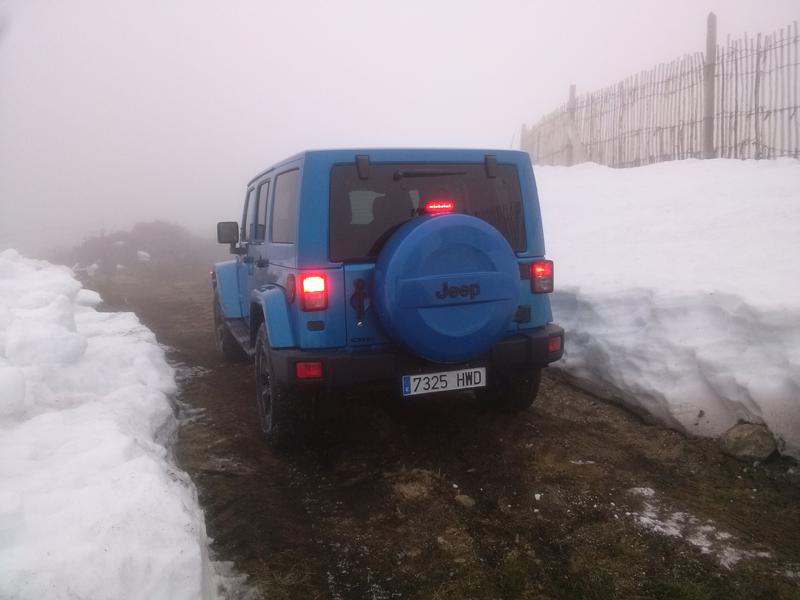 Jeep Wrangler Polar prueba 4x4
