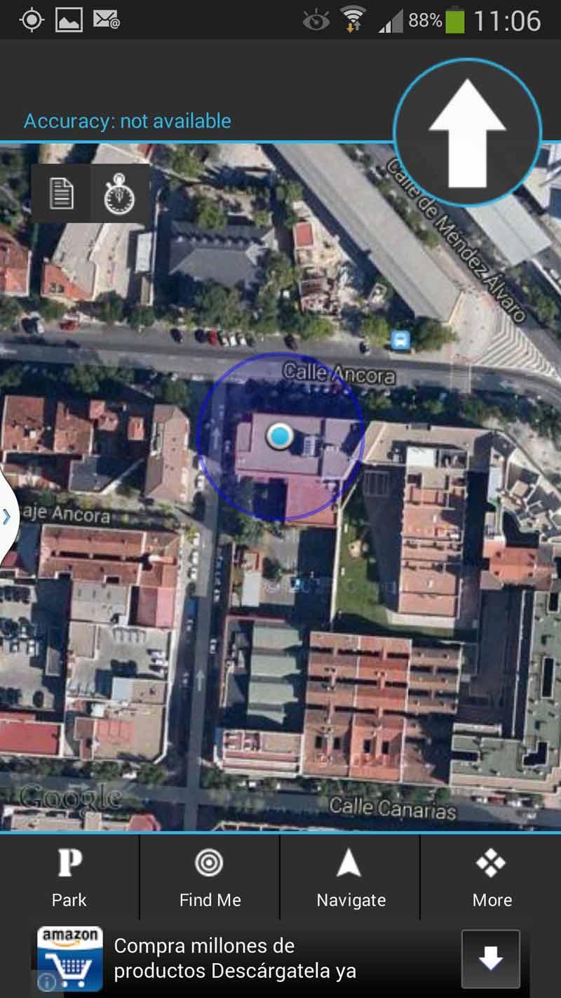 Aplicación My Car Locator