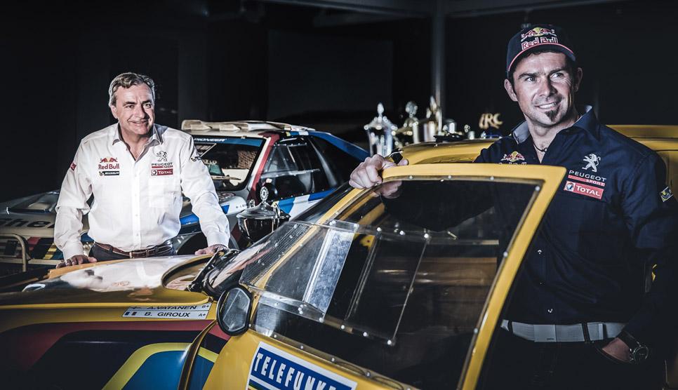 Sainz y Despres, pilotos de Peugeot para el Dakar 2015