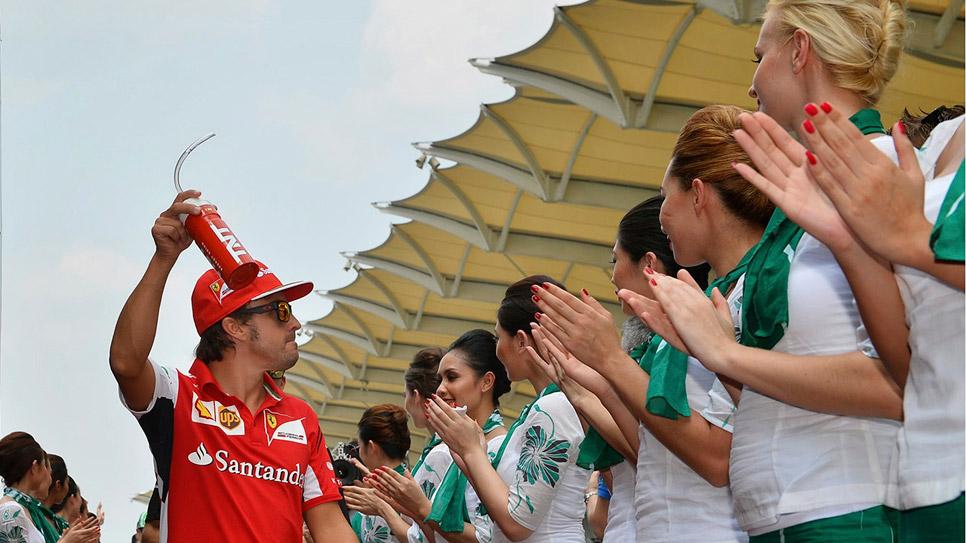 GP Malasia 2014: la carrera