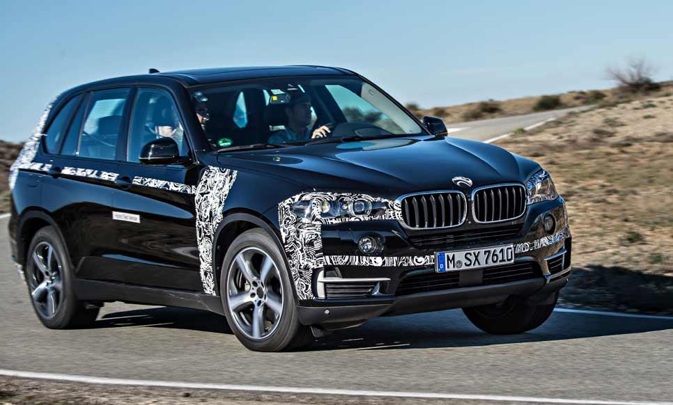 Contacto: BMW X5 eDrive prototipo