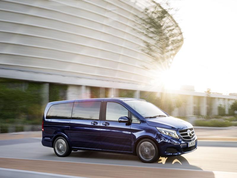 Mercedes Clase V, nuevo monovolumen de lujo