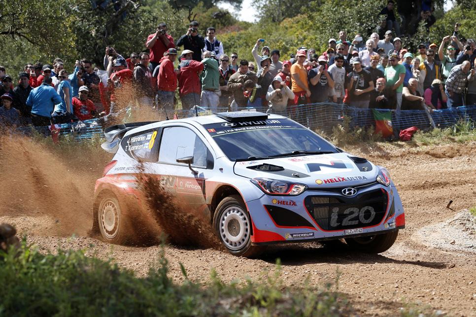 Rallye de Portugal: jueves