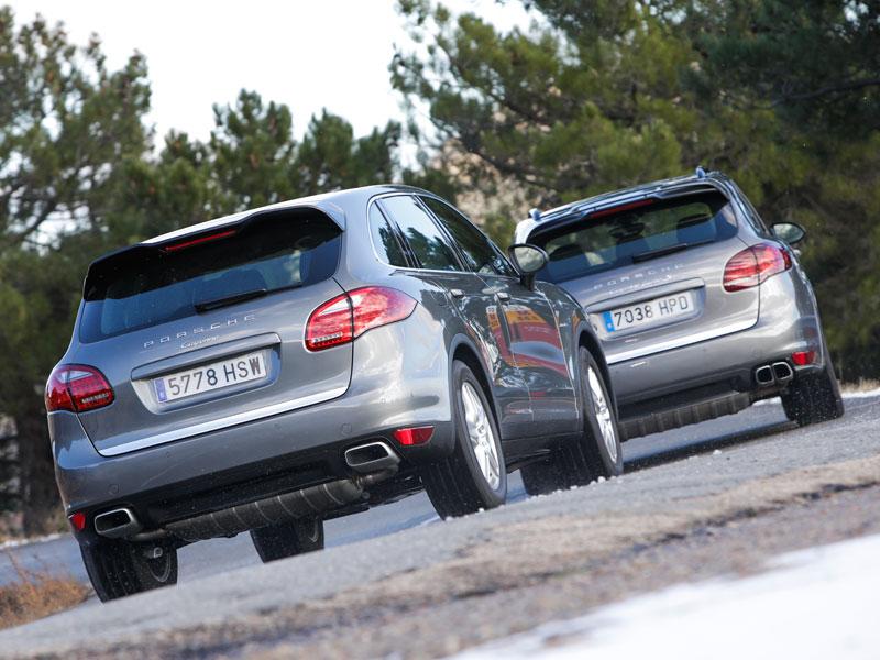 Porsche Cayenne Diesel vs Porsche Cayenne Turbo S