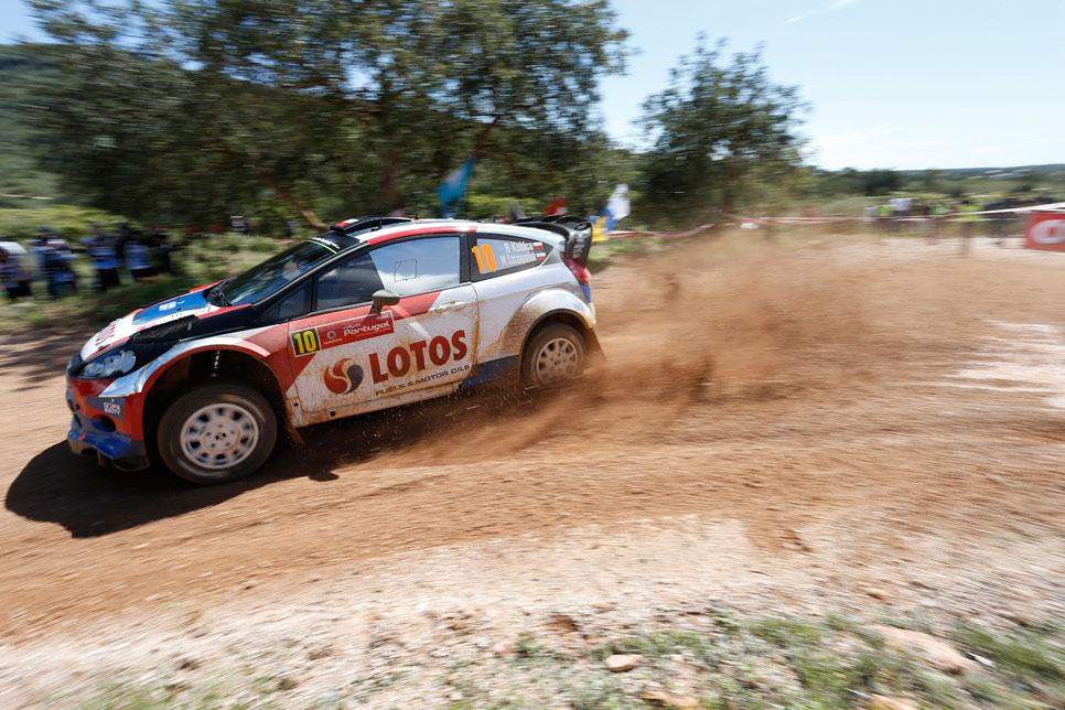 Rallye de Portugal: viernes