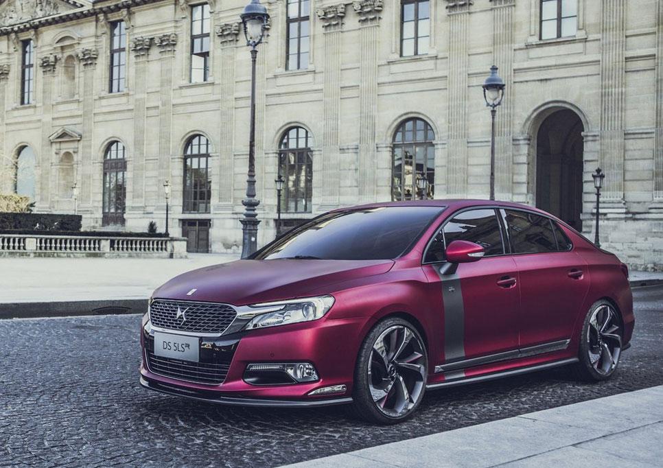 Citroën DS5 LS R, el DS5 más radical se desvela en Pekín