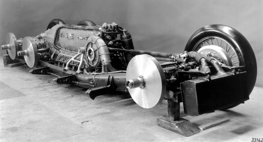 Mercedes-Benz T80, el cazarrécords de Hitler