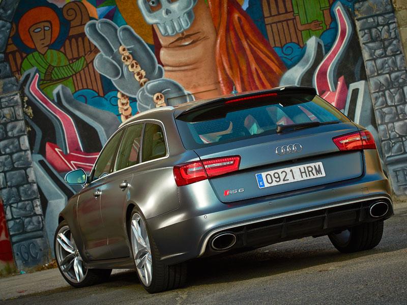 Audi RS6 Avant uno de los coches familiares más rápidos