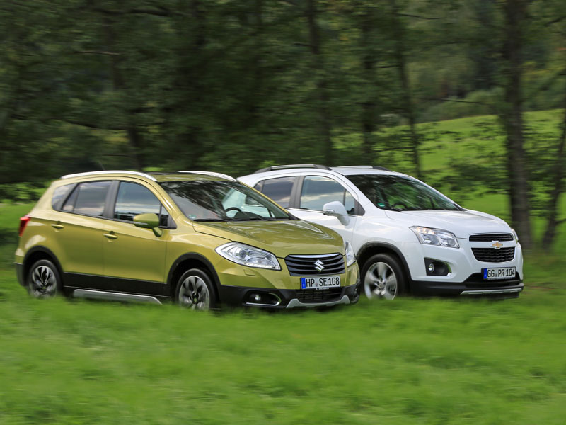 Comparativa: Chevrolet Trax 1.7 Diesel AWD vs Suzuki S-Cross 1.6 DDiS