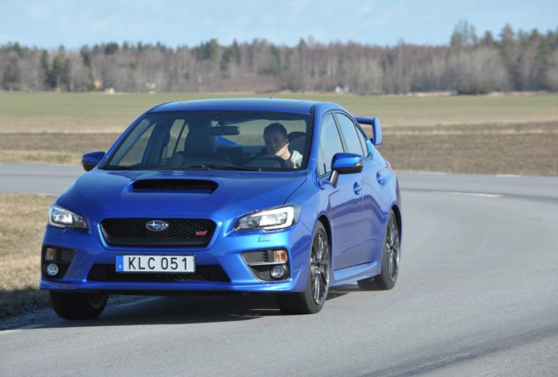 Prueba Subaru WRX STI 2014