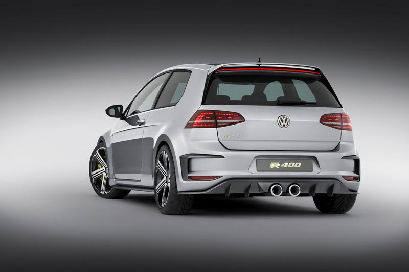 Volkswagen Golf R400, fotos y datos oficiales