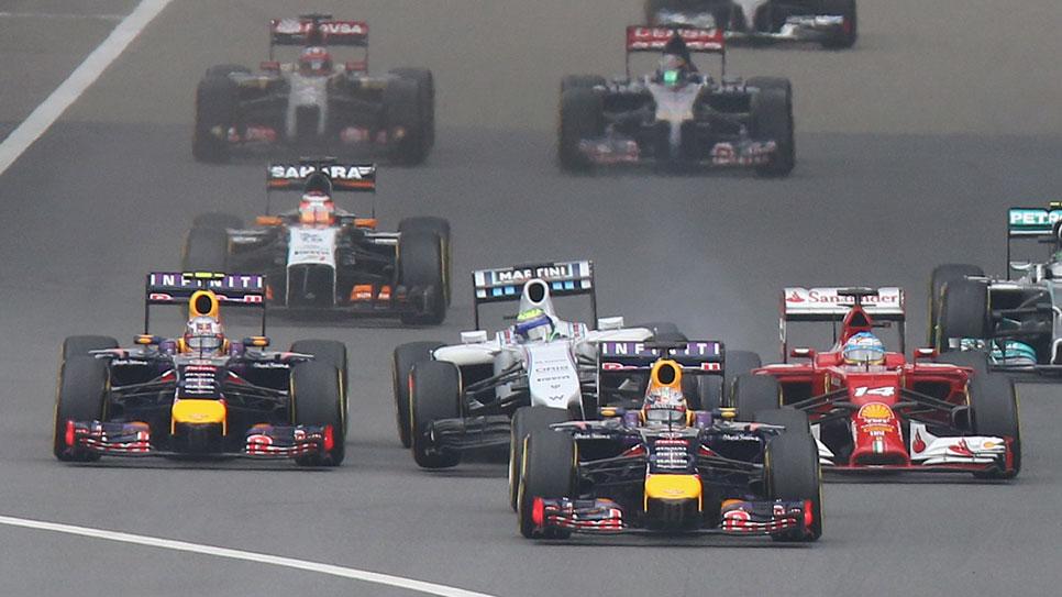 GP China 2014: la carrera