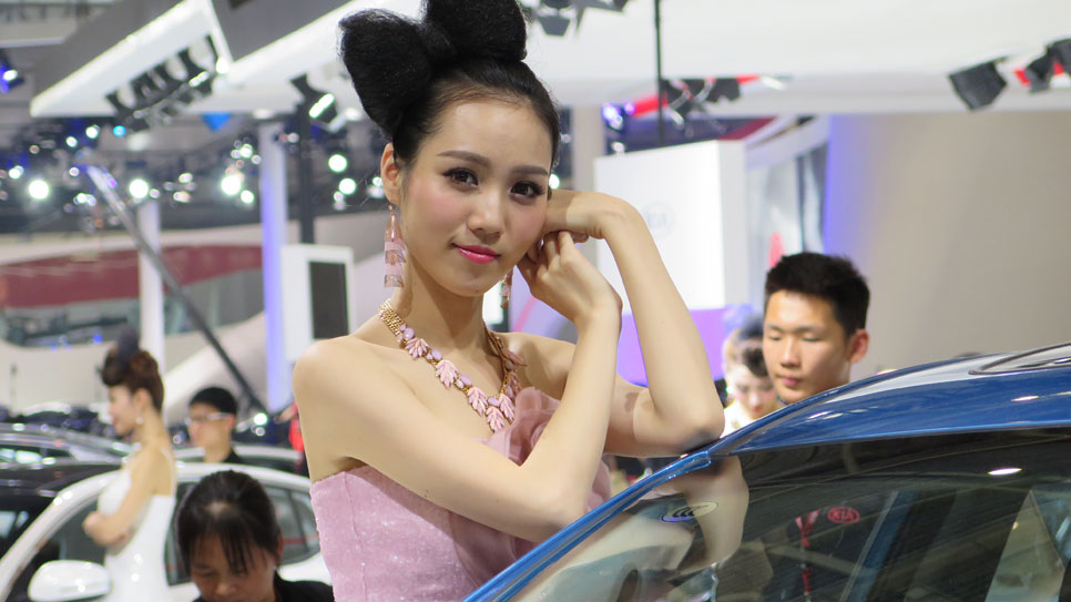 Las chicas del Salón de Pekín