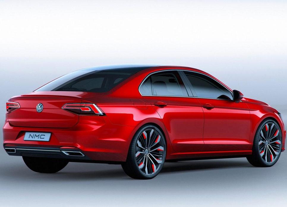 Volkswagen New Midsize Coupé