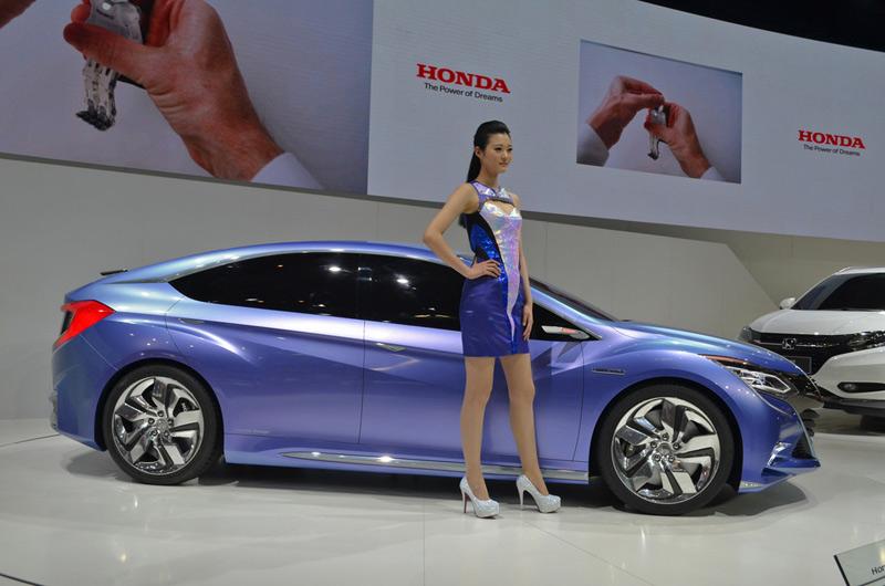 Honda Concept B en el Salón de Pekín 2014