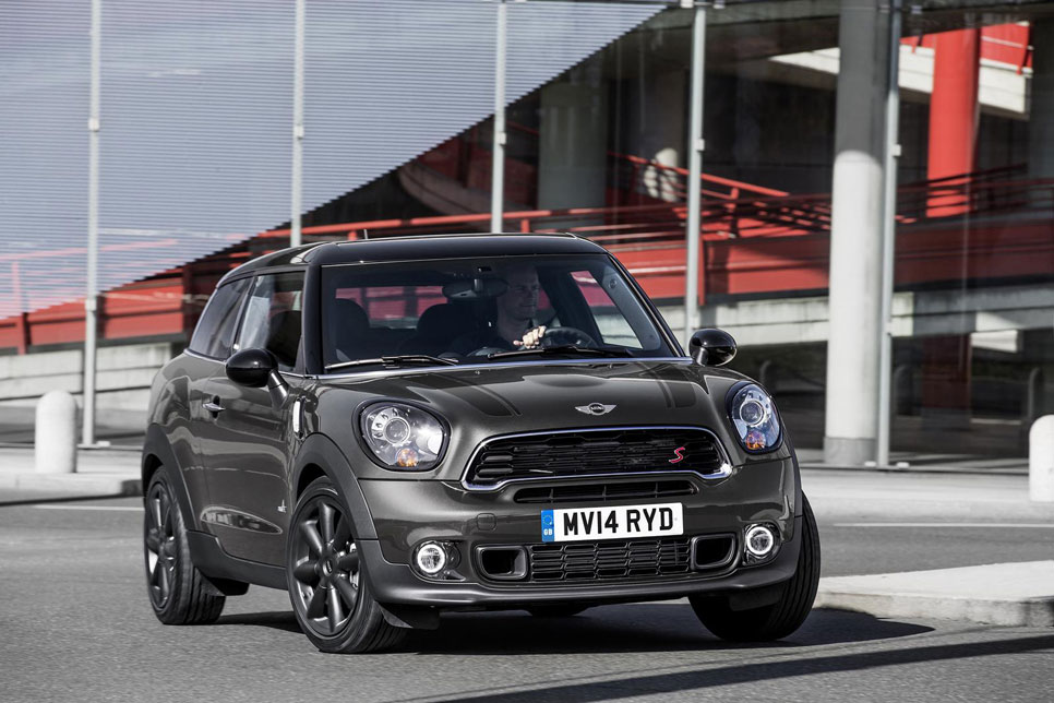 Mini Paceman 2014, el restyling