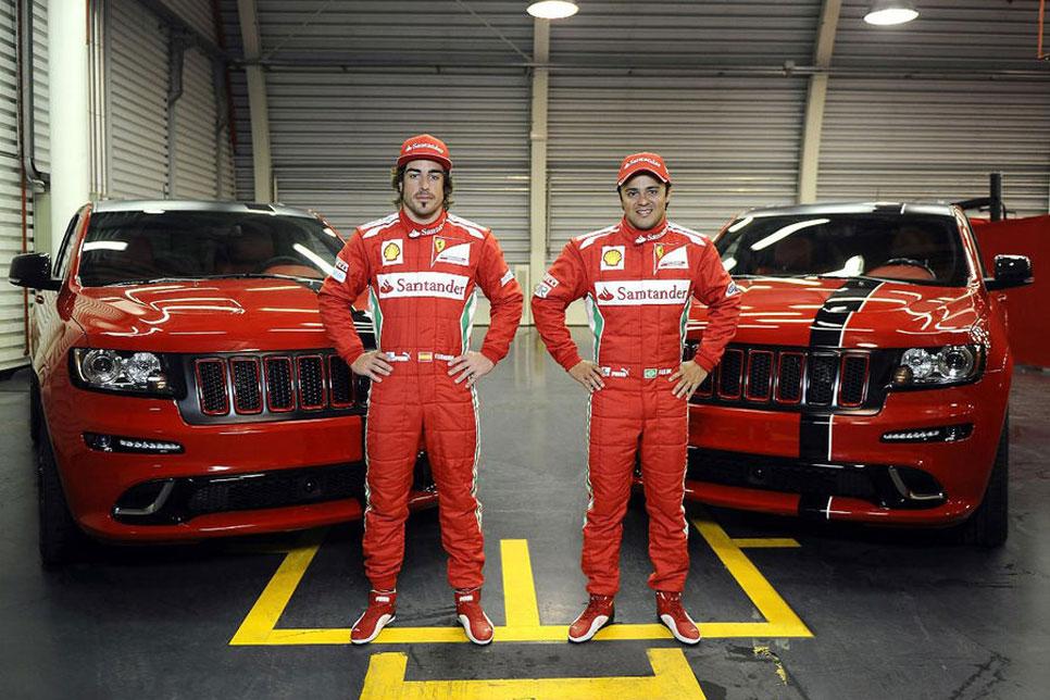 Los coches de calle de los pilotos de Fórmula 1