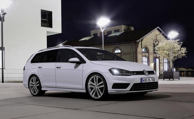 Volkswagen Scirocco y Golf Variant R-Line
