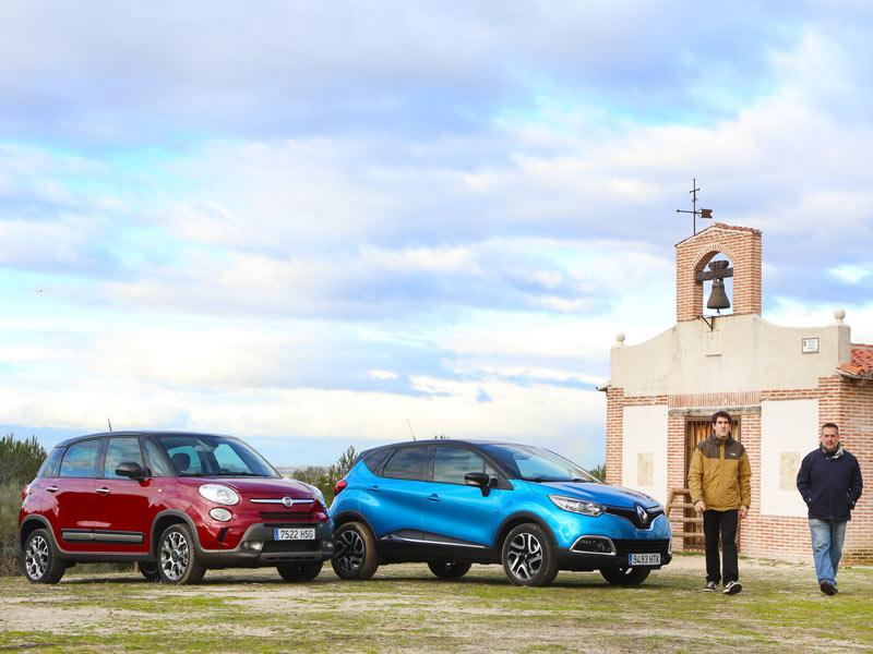 Comparativa: Fiat 500L Trekking 1.3 MJet 85 Dualogic vs Renault Captur 1.5 dCi 90 Zen EDC