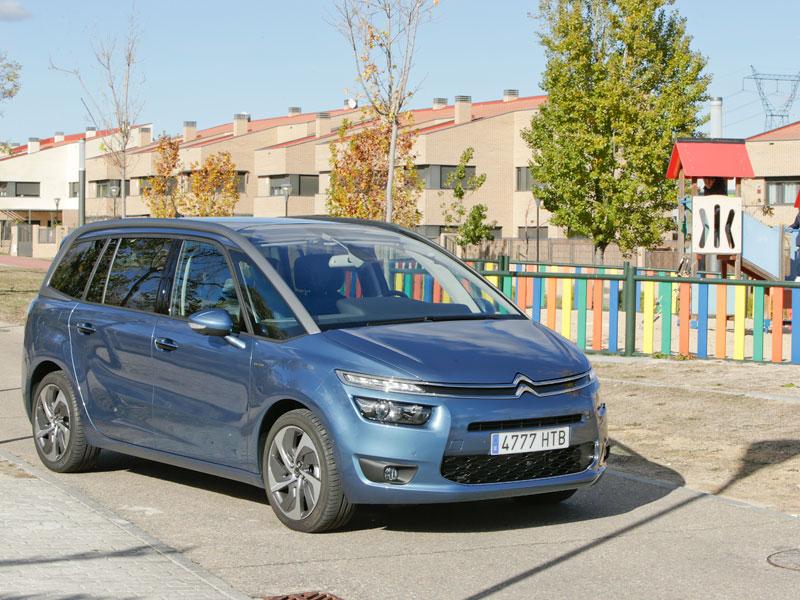 Prueba: Citroën Grand C4 Picasso 2.0 BlueHDI