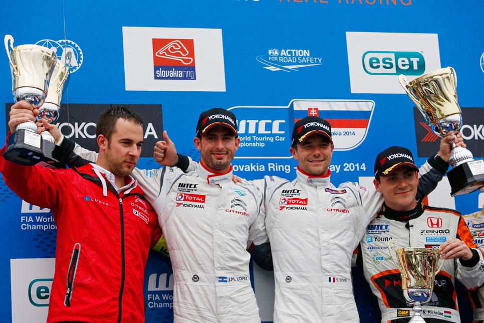 WTCC 2014-Eslovaquia