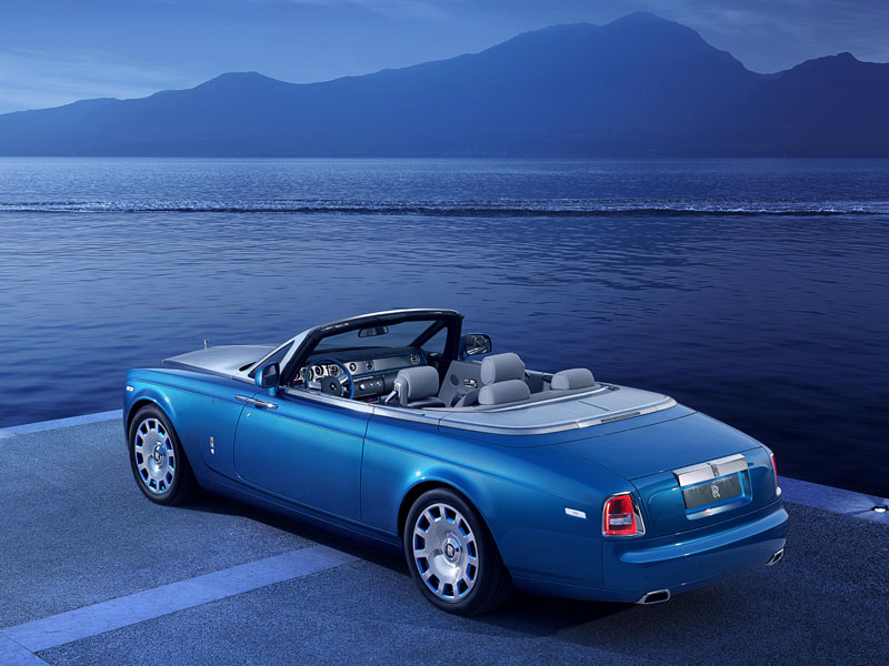 Rolls-Royce Phantom Drophead Coupé Waterspeed Collection