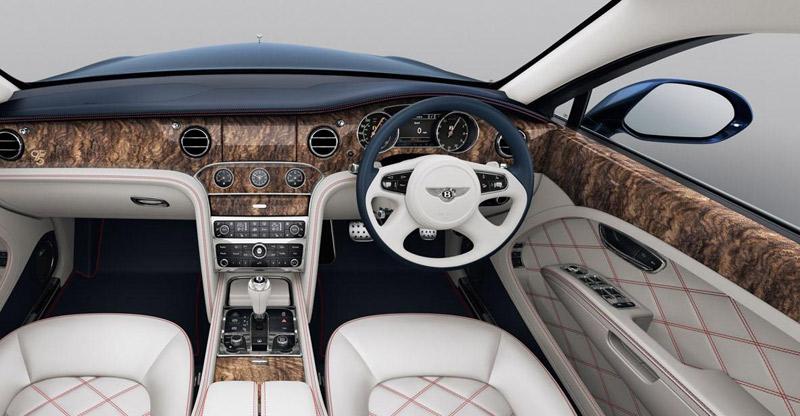 Bentley Mulsanne 95, regalo de 95 cumpleaños