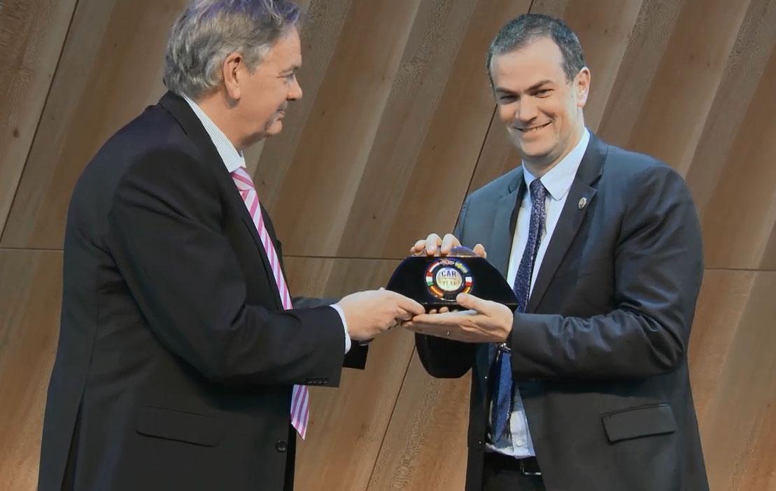 Car of the year 2014: entrega oficial al Peugeot 308
