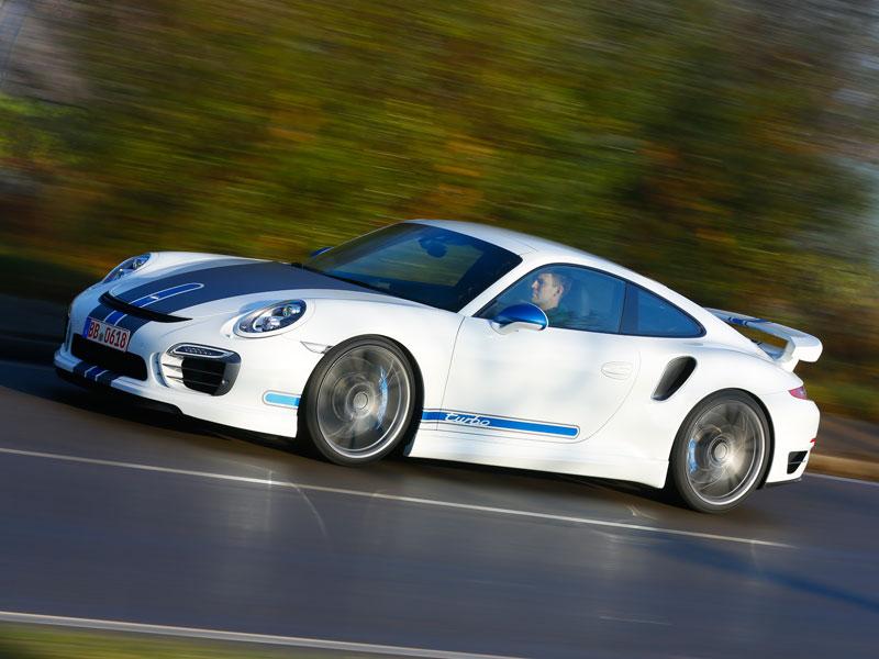 Contacto: Techart Porsche 911 Turbo S, mejora lo bueno