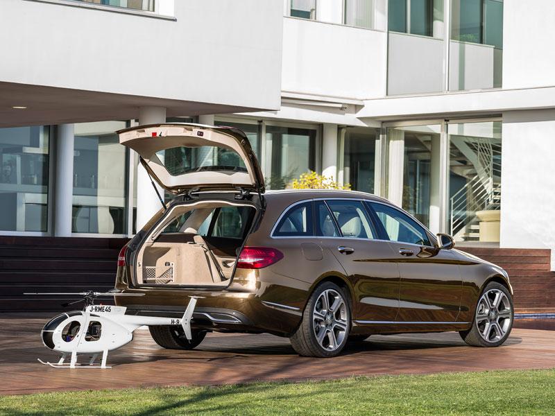 Mercedes Clase C Estate, el superfamiliar