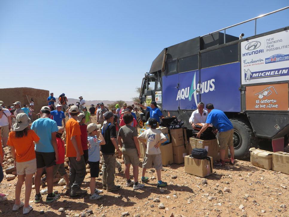 'El Desierto de los Niños' con Michelin