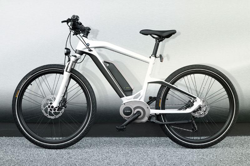 Las marcas de coches hacen bicicletas eléctricas