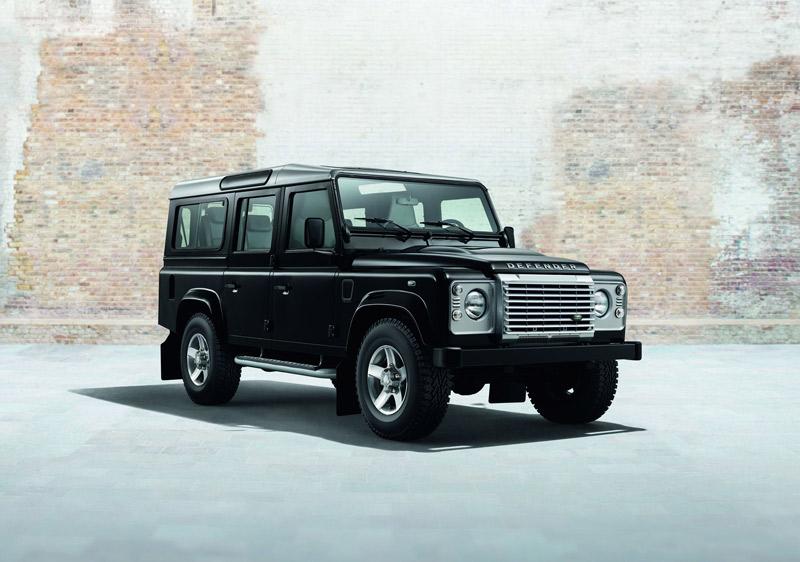 Land Rover Defender Black y Silver Pack
