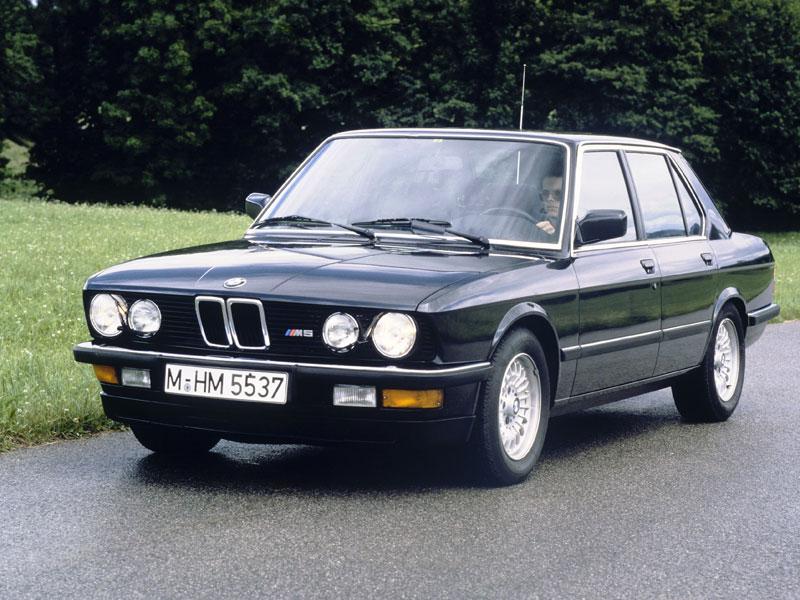 BMW M5 han pasado 30 años