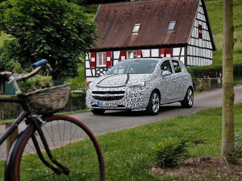 Opel Corsa 2014: validación