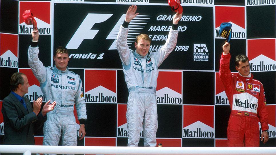 Juan Carlos I, el mayor aficionado a la F1