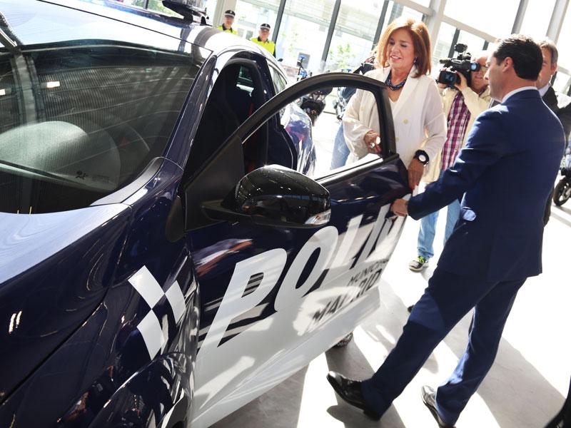 Coches de la Policía Municipal