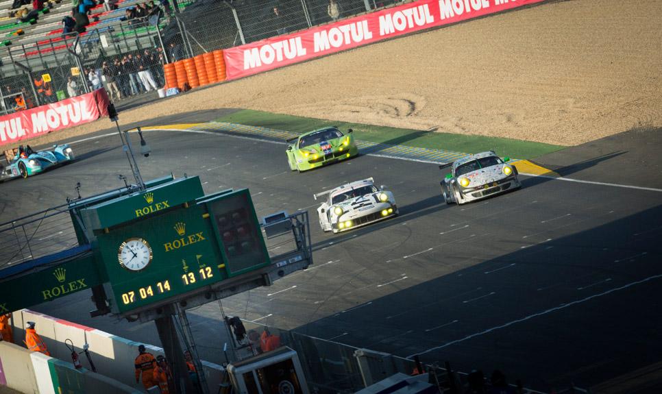 24 Horas de Le Mans: la carrera