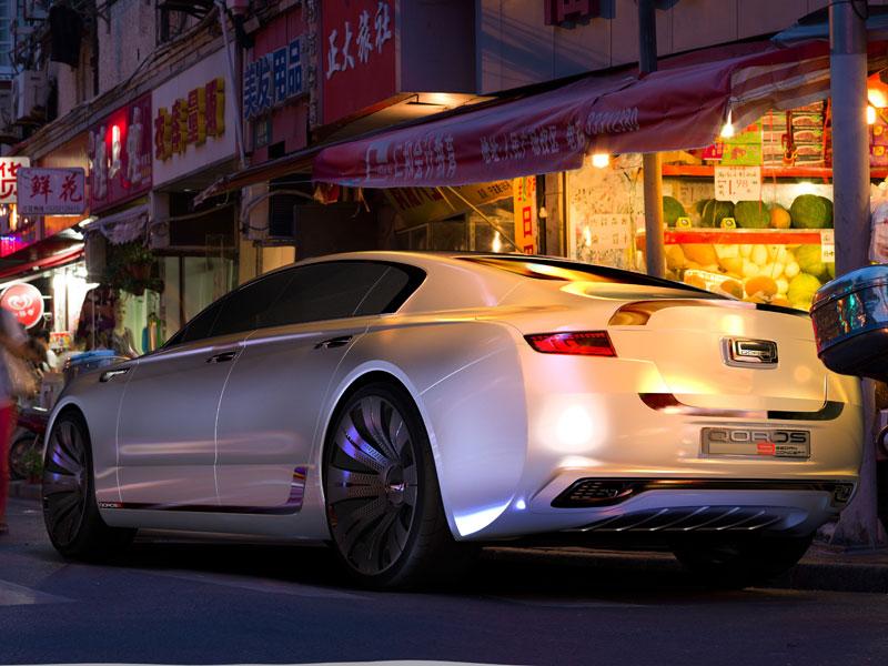 Qoros 9 Sedán Concept, la berlina de lujo china