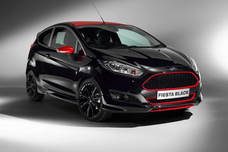 Ford Fiesta Red Edition y Black Edition con motor 1.0 EcoBoost de 140 CV