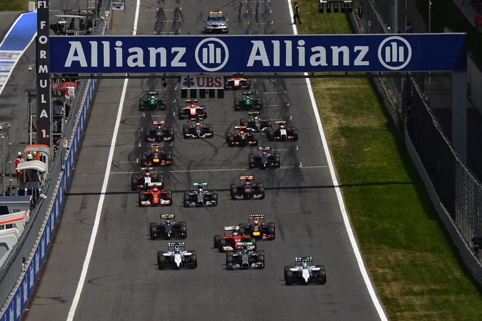 GP Austria 2014: la carrera