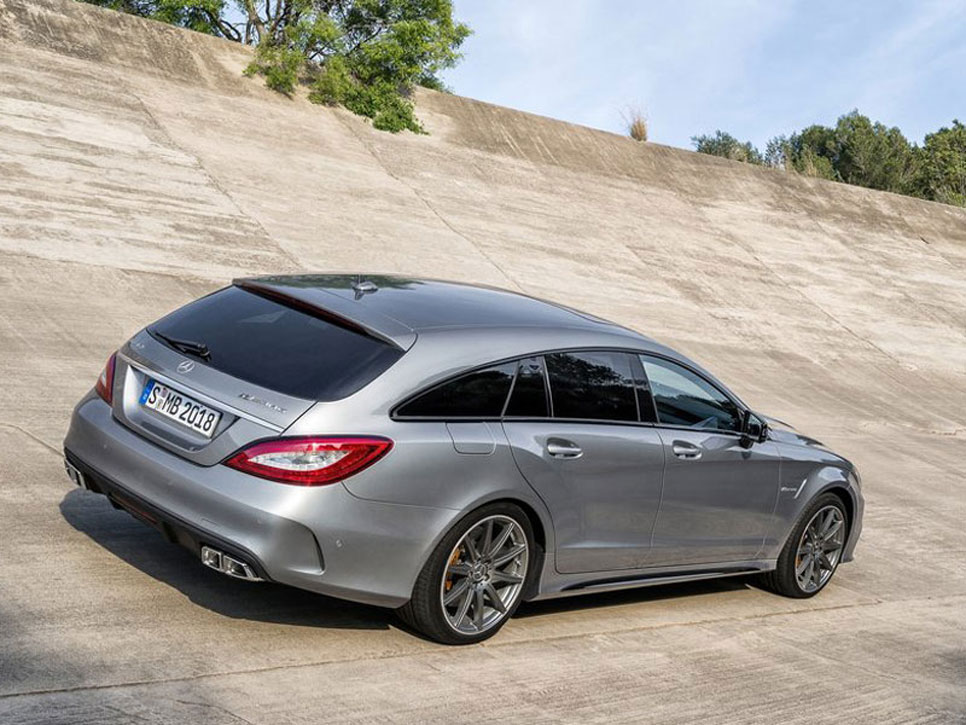 Mercedes CLS63 AMG Coupé y CLS63 AMG Shooting Brake 2015