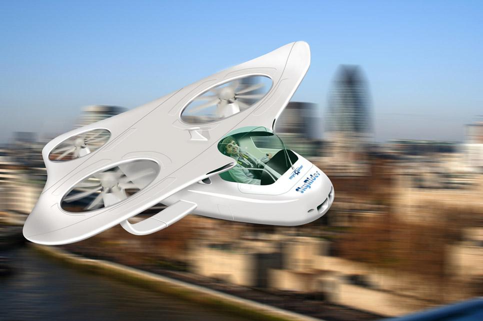 Top 5 de coches voladores: de tu garaje a las nubes