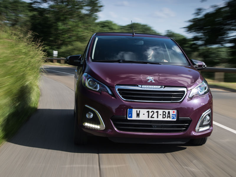 Contacto: Peugeot 108, personalizable