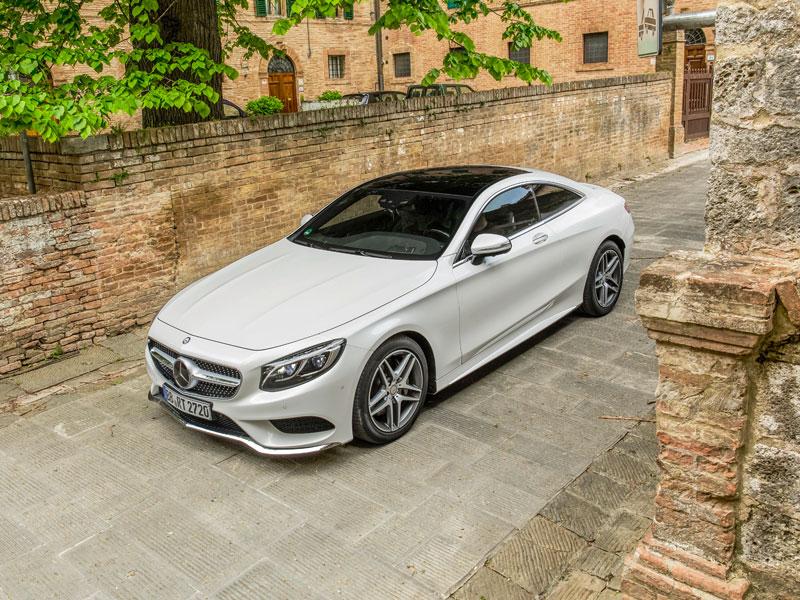 Contacto:  Mercedes S 500 Coupé, cautivador